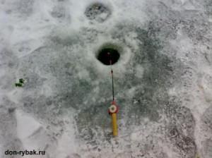 рыбалка на дону зимой