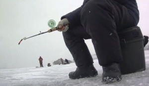 Зимняя удочка для судака